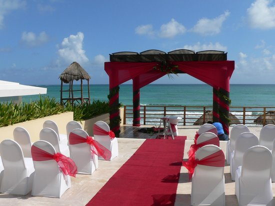 Now Jade Riviera Cancun Perfect Place For A Wedding