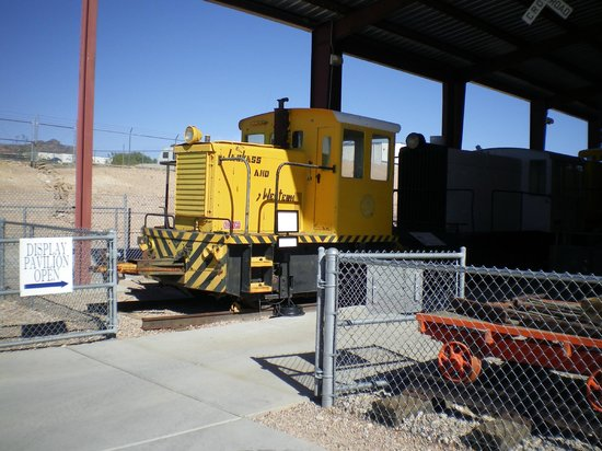 Nevada State Railroad Museum : NTS switch engine