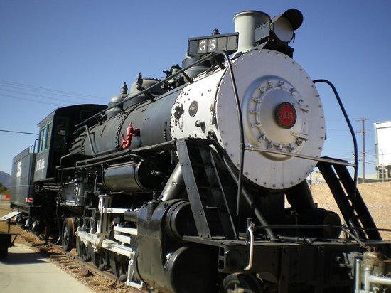 Nevada State Railroad Museum : Baldwin 4-8-4