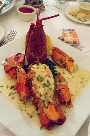 Sequoia: Lobster Thermadore Main course