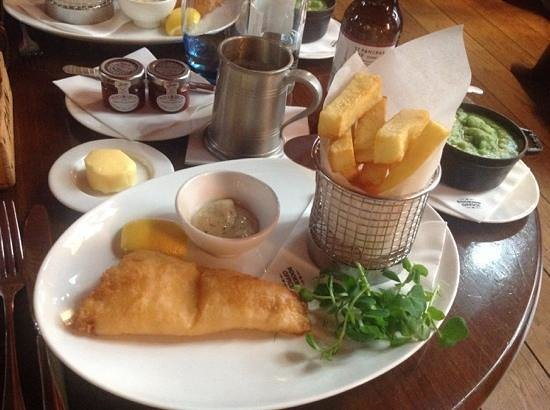The Booking Office: the poor fish and chips review picture...