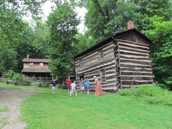 Meadowcroft Rockshelter and Historic Village: Meadowcroft Historic Village - August 8, 2013