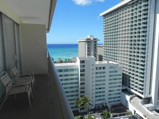 OHANA Waikiki East Hotel: View from Penthouse 1926