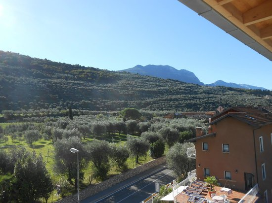 Ecohotel Primavera: vue depuis le balcon