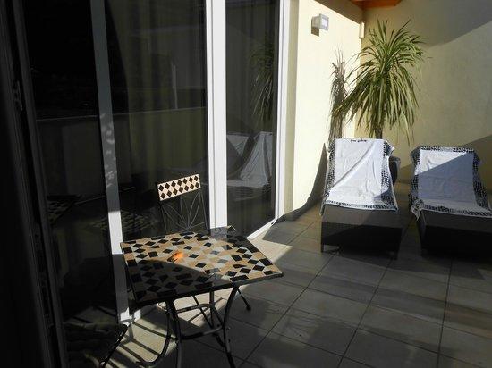 Ecohotel Primavera: terrasse suite