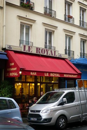 Le Royal from Rue De Grenelle