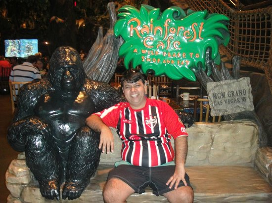 Rain Forest Cafe at MGM Grand Hotel and Casino: Rainforest Café MGM Cassino.