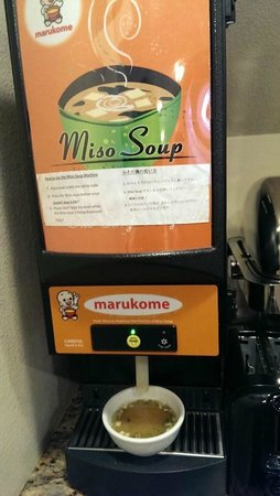 Residence Inn Seattle Bellevue : miso soup machine