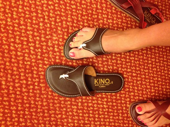 aa98cb052c2 Kino Sandals Inc  For 13 bucks these came in cream