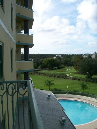 World Golf Village Renaissance St. Augustine Resort: View from 4th floor balcony