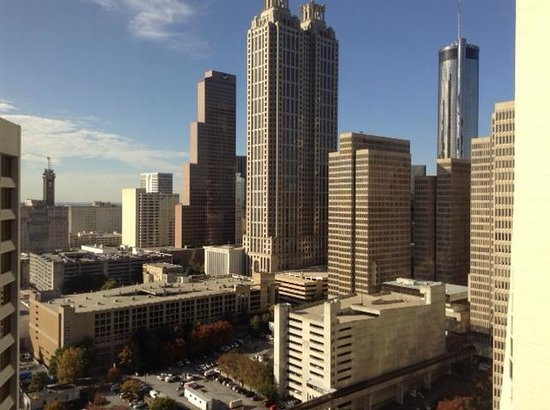 Hilton Atlanta: Actual view from room