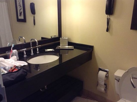 Hilton Atlanta: Modern bathroom