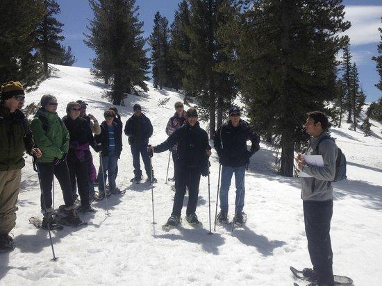 Tahoe Institute for Natural Science: Interpretive snowshoe tour at Tahoe Meadows