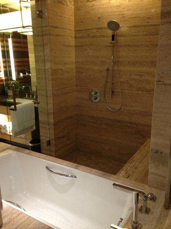 JW Marriott Hotel New Delhi Aerocity: Spacious shower
