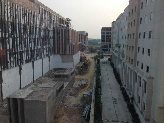 JW Marriott Hotel New Delhi Aerocity: View from the room