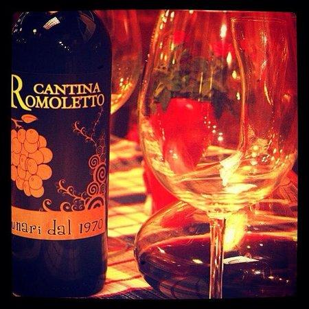 Cantina Romoletto: Il Vino della Casa