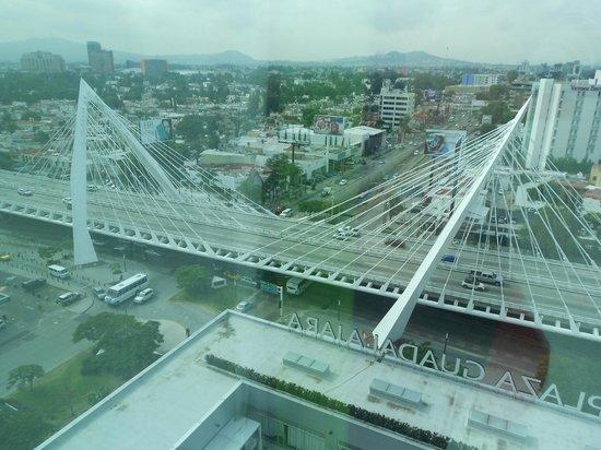 Hotel Riu Plaza Guadalajara: Vista desde la habitación