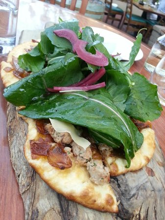The Backyard: Flatbread