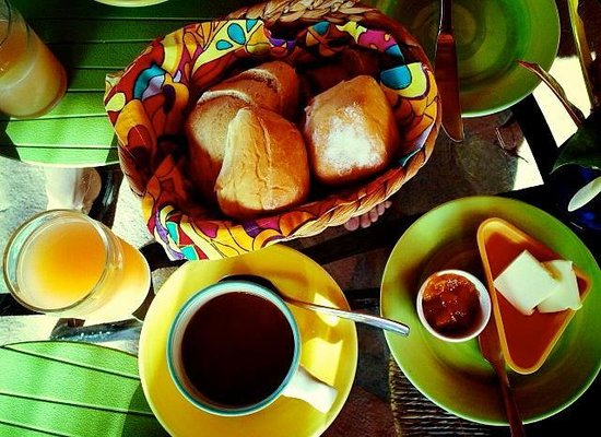 Posada La Poza: Breakfast is served! (and included with your stay)