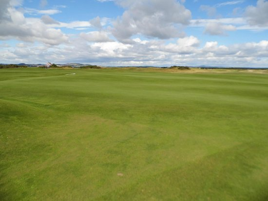 The Old Course Experience: Wide open spaces.