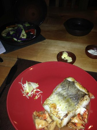 Aldea restaurant : Hake dish