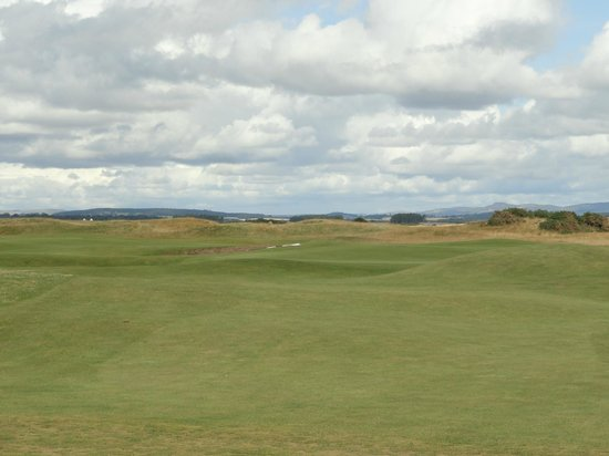 The Old Course Experience: A nice day for a walk.