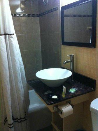 Aashram Hotel by Niagara River: Bathroom