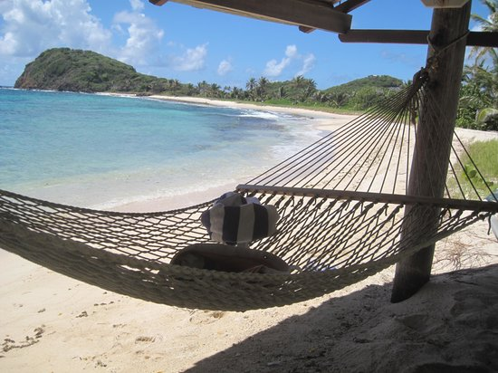 Palm Island Resort & Spa: This beach ALL to ourselves!!!