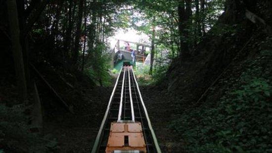 Hillbilly Golf : Up the hill you go!