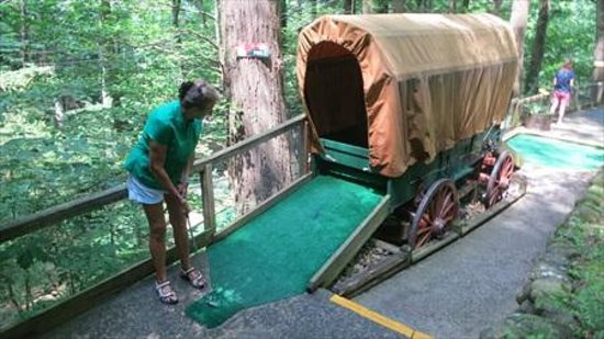 Hillbilly Golf : My wife almost defeated me that day.