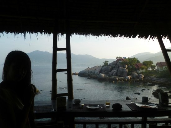 Charm Churee Villa: our breakfast view each morning