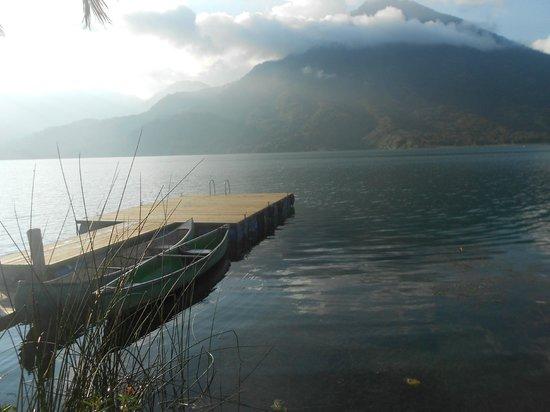 Posada de Santiago : Hotel's dock