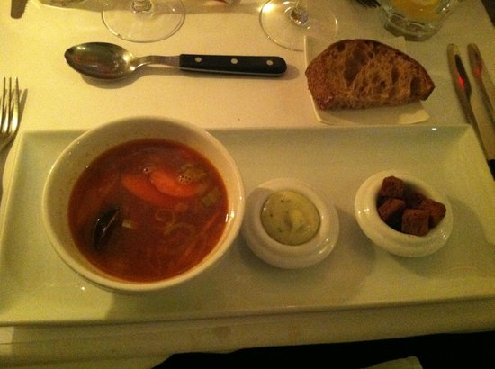 Restaurant Zeleste : Fish Soup