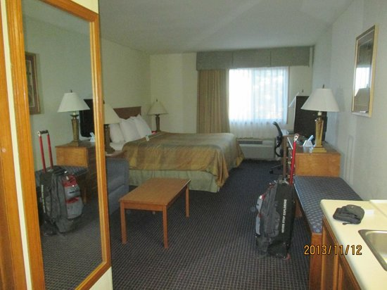 BEST WESTERN West Towne Suites: room decent