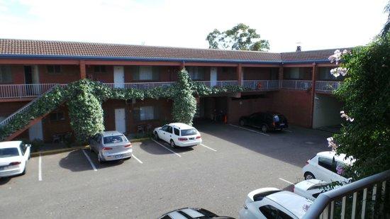 Adelaide Granada Motor Inn: View from the Room