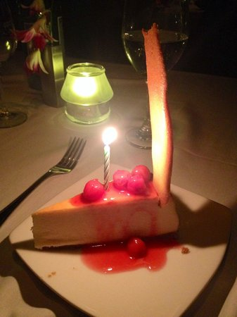 Bateaux New York: Delicious cheesecake