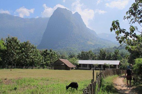 Ban Xieng Lom, Laos: Minorities village near Ban Xien Lom