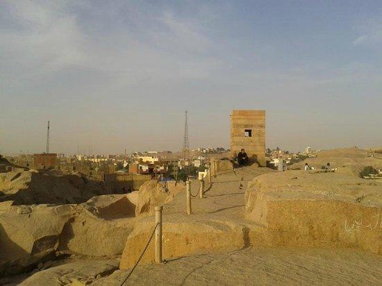 Unfinished Obelisk : Assuan, vom unvollendeten Obellisk 2012