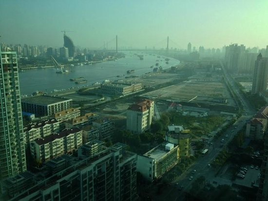 The Eton Hotel Shanghai: View of river