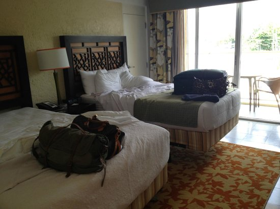Radisson Aquatica Resort Barbados: unpacking in our wonderful rooms!!!