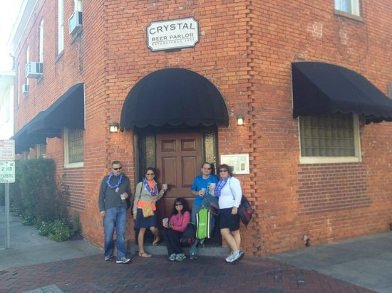 """Crystal Beer Parlor: Exterior and """"Our Gang"""" Pre-Race"""