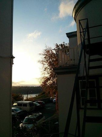 Manoir Sur-le-Cap: View from balcony