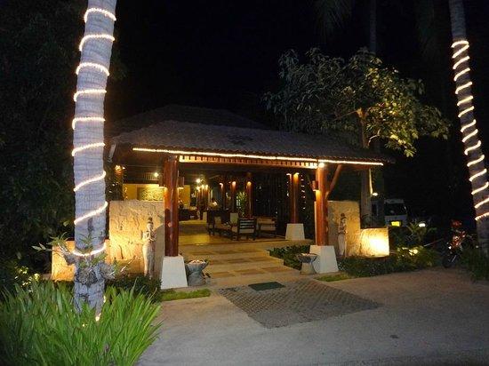 Baan Chaweng Beach Resort & Spa : Baan Chaweng Entrance
