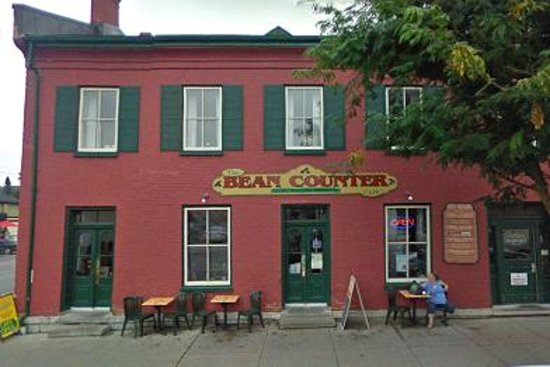 The Bean Counter Cafe: Front building