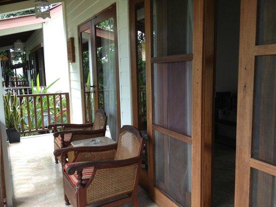 The Studio Bali: Porch