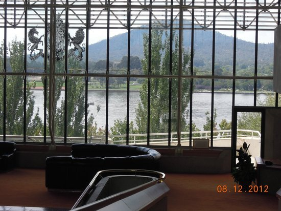 High Court Of Australia Views Out To Lake Burley Griffin