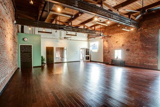 The Big Room - Picture of The Body Electric Yoga Company, St ...