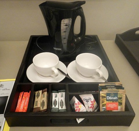 Cape Heritage Hotel: coffee maker