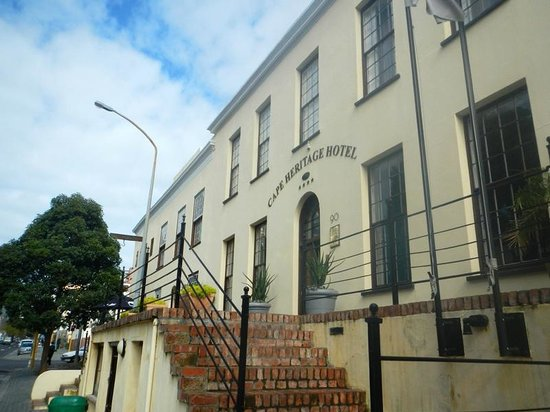 Cape Heritage Hotel : front entrance
