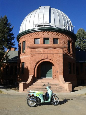 Chamberlain Observatory in Observatory Park near University of Denver